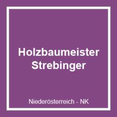 Holzbaumeister Josef Strebinger