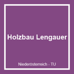 Holzbaumeister Ing. Michael Lengauer