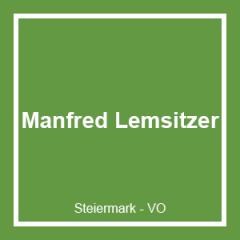 MANFRED KARL HEINZ LEMSITZER