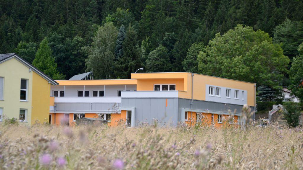 Das Down Syndrom Zentrum in Leoben wurde in Massivholzbau weise errichtet