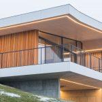 Außergewöhnliche Architektur in Massivholzbauweise überzeugt beim Haus auf der Koralpe