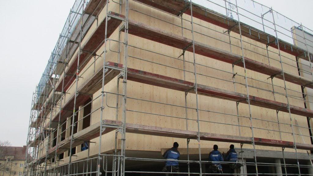 Die Stadt Wien setzt auf nachhaltigen Bau mit CLT (Cross Laminated Timber)