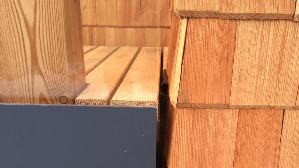 Holz in seiner Besonderen Charakteristik.