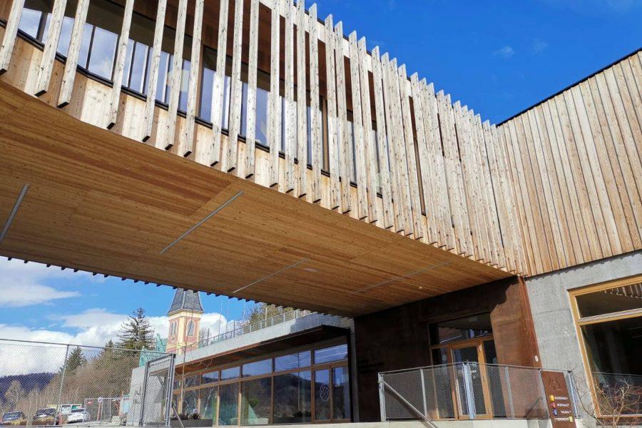Volksschule Thal – Brückenbau zwischen Alt und Neu